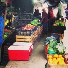 Day 2 - exploring the fruit market.