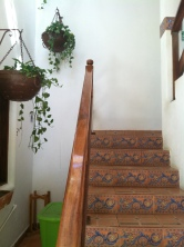 We'd walk up three flights of these stairs every morning and evening for meals, practice, goal sessions, hanging out...