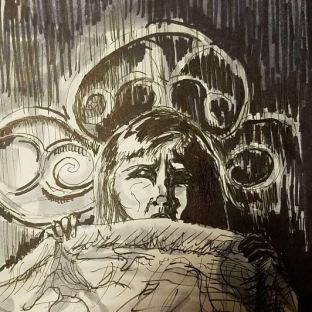 "Prompt: ""Scared"" - Carol Ann from Poltergeist"