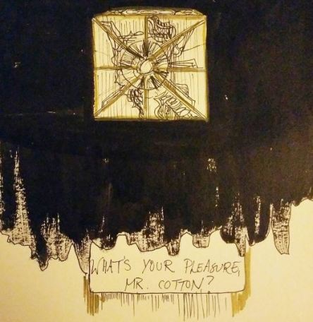 """Prompt: """"Box"""" -- inspired by Hellraiser"""